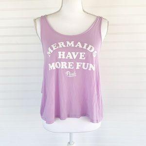 Pink Victoria's Secret soft lavender muscle tee